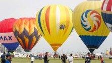 Фестивал на балоните с горещ въздух в Кларт Глобъл Сити, Филипините