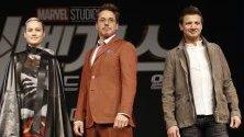 Американските актьори част от актьорския състав на филма Endgame от поредицата на Marvel – Avengers. Актьорите участват на пресконференция в Южна Корея във връзка с излизането на филма в края на април