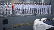 Моряци честват 70-годишнината от основаването китайската военноморска народна освободителна армия. Китайската флота ще проведе военноморския парад по случай 70-годишнината на 23 април 2019 г.