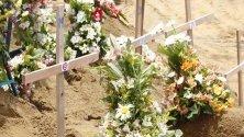 Ден на траур в Шри Ланка! Днес се състояха множество погребения на починалите по време на експлозии на католическия Великден.