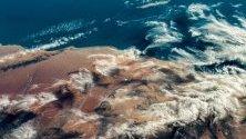 Снимка на земята отвисоко, публикувани на официалният уебсайт на НАСА във връзка с Деня на Земата (вчера).