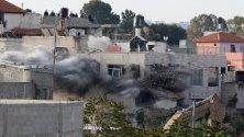 Конфликт между израелци и палестинци в село Ал-Завия, близо до западния град Салфит, 24 април. Израелският съд даде одобрение за разрушаване на къшата на палестинското семейство Абу Лайла, тъй като Израел обвинява един от синовете на семейство за убийството на двама израелци.
