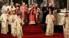 """Храм-паметника """"Св. Александър Невски"""" по време на Великденсите чествания"""
