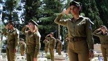 Израел в подготовка за отбелязването на Деня на паметта за падналите войници на Израел и жертвите на тероризъма, отбелязването ще започне на залез слънце на 7 май 2019 г.