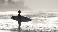 Събитието Corona Bali Protected surfing като част от Световната лига за сърфиране 2019 в Керамас, Бали, Индонезия.