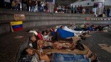Topnovini.bg Published by Виктория Коларова Page Liked · 6 mins · Edited  Гладна стачка в Каракас, Венецуела. В едноседмичния протест участват повече от 500 души. Провежда се на километър от президентския дворец в Каракас, а гражданите изискват от венецуелското правителство да уважава техните права.