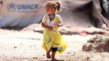 Афганистанско момиче, изселено  поради конфликти и бедствия. УНИЦЕФ поиска 50 милиона щатски долара, за да предостави така необходимата подкрепа на повече от 570 000 деца.