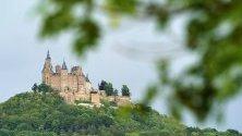 Замъкът Хоенцолерн в Хехинген, Германия.