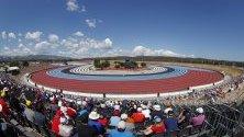 Квалификационна сесия на  Формула 1 Гран при в Ле Кастелет, Франция.