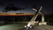 Залез в Салвадор, Бразилия.