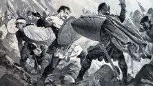 Смъртта на цар Михаил в битката при Велбъжд
