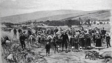Бежанци от Македония преминават в Княжество България