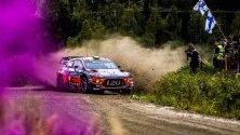 Крейг Брийн дебютира зад волана на  Хюндай i20 Coupe WRC по време на Рали Финландия. Тази година се навършват 10 години от първия му старт там.