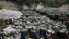 Завод за сортиране на отпадъци в Мампоте, Венецуела.