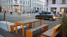 Паркоместа в Берлин са превърнати в места за почивка. Лявата партия в страната настоява за намаляване на паркоместата в германската столица.