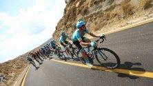 Тече седми етап от Вуелтата - обиколката на Испания.