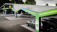 Супермаркет Lidl Zero - първият енергийно ефективен супермаркет в Холандия. Сметките за ток на магазина са нулеви благодарение на слънчевите панели върху покрива и върху автомобилите на паркинга, както и приспособления за съхраняване на топлината и студа.