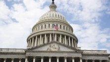 Сграда на Конгреса на САЩ, която се намира в столицата Вашингтон. Капитолият е мястото, където става официалното встъпване в длъжност на президента на САЩ.