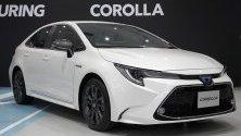 Toyota представя новата си Corolla в Токио.