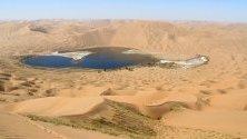 Пустинята Бадаин Джаран, Китай
