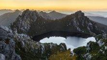 Езеро Оберон, остров Тасмания