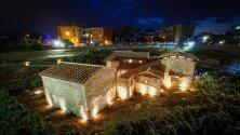 Новооткритата и осветена Вила Регина след реставрация в Боскореале, край Неапол и Помпей. Това е единствената вила от Римската империя, изцяло отворена за посетители, някога погребана след изригването на Везувий.