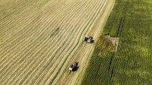 Жътва в Уисконсин, САЩ. Очакванията са за по-малък добив на царевица и соя.