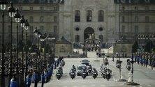Погребение на бившия френски президент Жак Ширак.