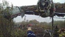 Катастрофа с товарен самолет Ан-12, изпълняващ чартърен полет Виго (Испания) – Лвов, по време на аварийно кацане на украинското летище.