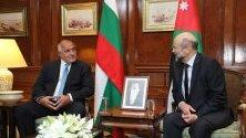 Премиерът Бойко Борисов на посещение в Йордания