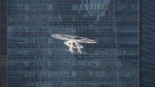 Тестови полет на авиотаксито Volocopter 2X в Сингапур. Плановете се да бъде използван за вътрешноградски дестинации в бъдещето.