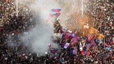 Не стихват протестите в Чили срещу правителството.