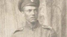 Асен Разцветников като войник