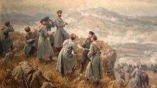 Александър Батенберг на бойното поле при Драгоман