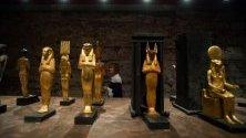 Изложба, посветена на Тутанкамон, в Будапеща, Унгария, в която са показани близо 1000 артефакти, открити в гробницата на фараона.