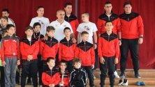 """Състезателите от спортен клуб """"Ипон 87"""" в Елена"""