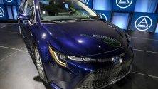 "Корола Хибрид стана ""зелен автомобил"" на 2020 г. по време на автосалона Automobility LA в Лос Анджелис."