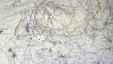 Карта на Тутраканския укрепен лагер