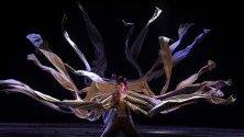 """Изпълнение на кунг фу театъра на Джеки Чан по време на шоуто им """"11 войници"""" в София."""