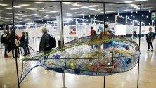 Коридори на Световната конференция за океанските бозайници в Барселона, Испания.