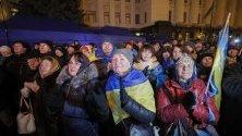 Украинци реагират на договореното спиране на огъня в Донбас между президентите на Русия и Украйна.