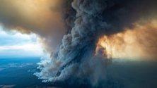 Борбата с горските пожари в Австралия продължава