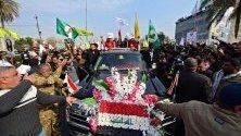 Погребението на Касем Солеймани в Багдад