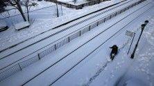 гърция сняг