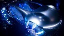 Концептуален модел Vision AVTR на Mercedes-Benz, показан по време на Международното изложение за потребителска електроника (CES) в Лас Вегас.