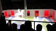 Ревю на Прада по време на Седмицата на модата в Милано.