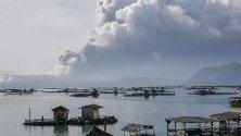 Хиляди се евакуират заради опасността от ново изригване на вулкан в покрайнините на Манила, Филипините.