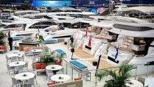 Супер яхти са изложени на Boot 2020 в Дюселдорф, Германия - най-голямото изложение за водни спортове в света.