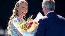 Тенисистката Каролин Возняцки е обявена за Жена на годината на Australian Open.