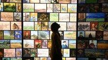 """Интерактивна изложба """"Запознайте се с Винсент ван Гог"""" в Саут Банк, Лондон."""